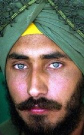 read the Sikh's face and learn of self-determination