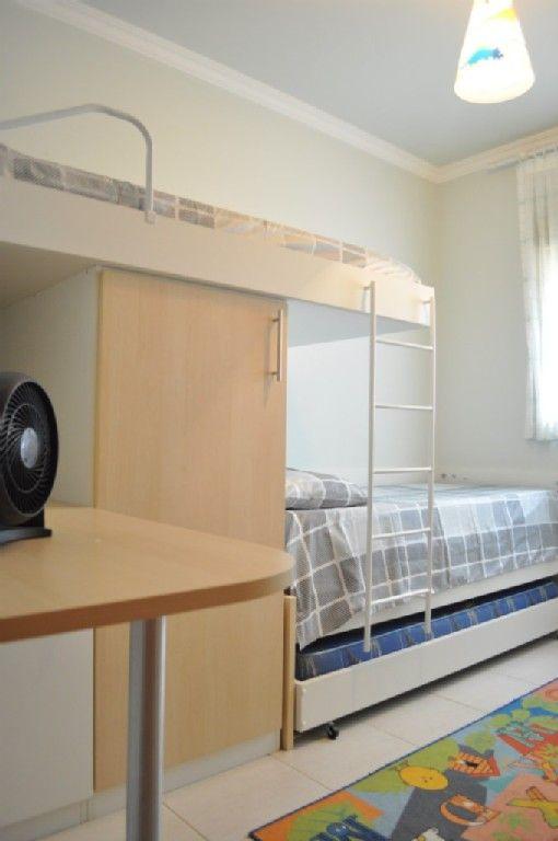 apartamento Açores Quarto com triliche (3 camas de  ~ Quarto Planejado Infantil Com Beliche