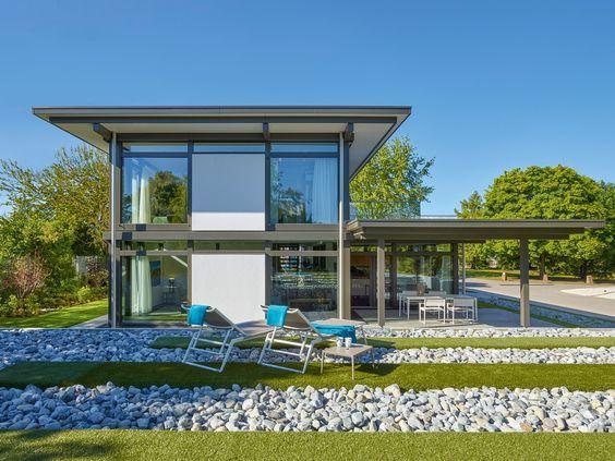 Moderne Fachwerkhäuser traumhausgalerie moderne fachwerkhäuser huf haus 모던주택