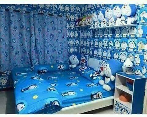 Doraemon Room Kids Bedroom Designs House Bedroom Ideas Kids Bedroom New small doraemon room kamar