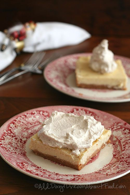 ... eggnog cheesecake low carb cheesecake cheesecake bars cheesecake