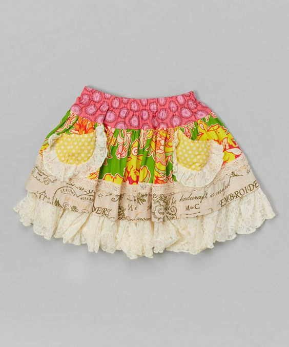 Look at this Pop Mint Ella Skirt - Infant, Toddler