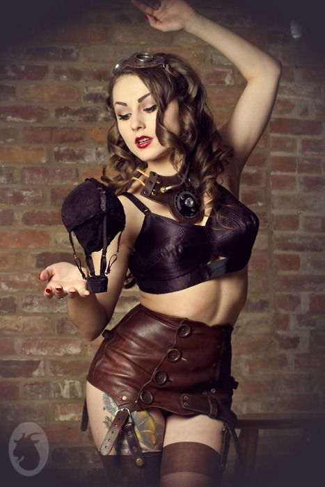 directorysexy:    LOVE everything about this photo!  via: steampunkgirls:    MontgolfieresMy newest photographic work  Model and MUA: Acid DollHair: Rockyval CoiffureAssistant, goggles, garterbelt, and chestpiece: Oil and sugarNylon: Cervin ArsoieBra model wears: What Katie DidConcept, photo, edits and hot air balloon: Mlle Chèvre