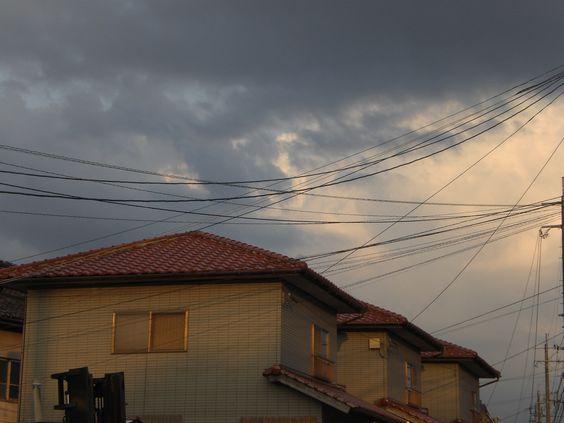 9月6日晴れ時々くもり 蒸し暑い日で昼間は汗が沢山出ました。