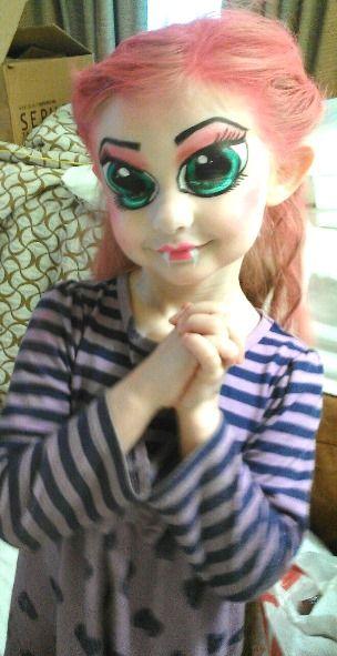 Cute halloween makeup for girls halloween makeup ideas for Cute painting ideas for kids