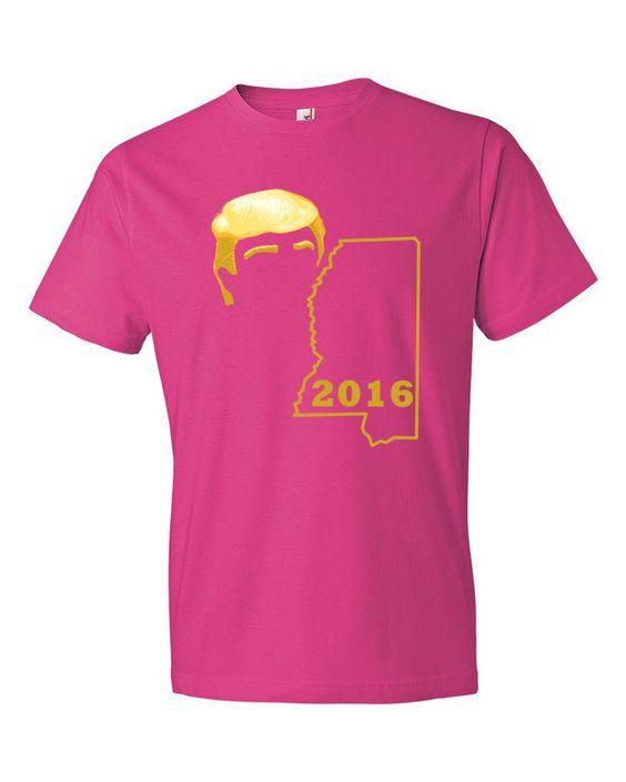 Trump 2016 Mississippi Trump T Shirts
