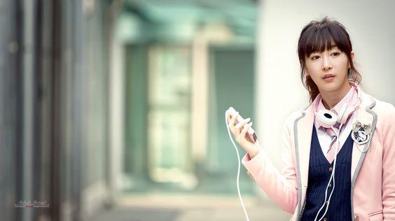 Lee Ga Na - school girl: Lee Ga, Korean Model