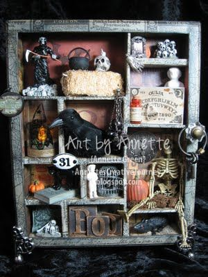 Halloween Configurations Box with instructions