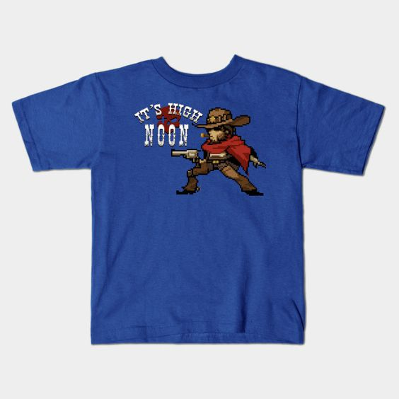 Overwatch - 16-bit Mccree Quote Young T-Shirt