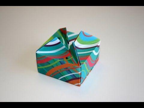 Bo te les origami de senbazuru l 39 origami facile - Boite cadeau origami facile ...