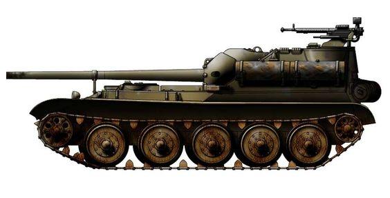 Russia - SU101 Tank Destroyer