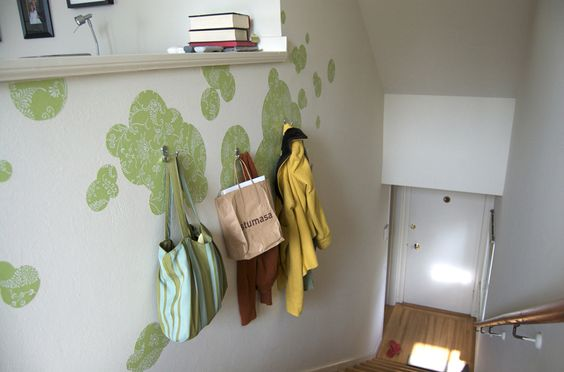 TOO CLEVER - Simple wall art that's super cheap and a neat way to express yourself using decorative contact paper!