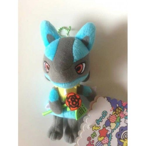 Pokemon Center 2013 Pokemomo Campaign #2 Lucario Plush Keychain