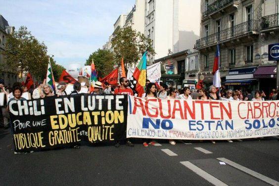 Marcha por la educación 8 de Mayo de 2014 EduGlobal