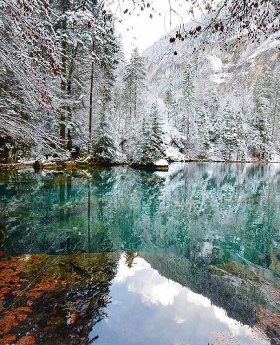 Blausee, BE Switzerland