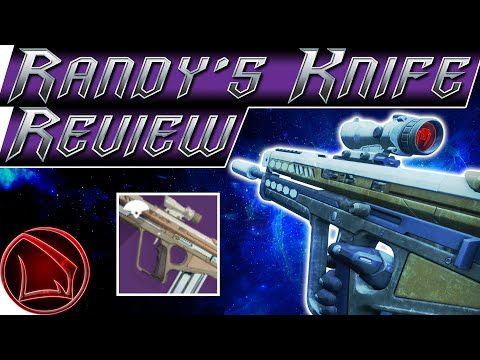 Destiny 2 Randy S Throwing Knife Review Guide Quest Steps Pvp Gameplay How To Get Tips Youtube Pvp Destiny Throwing Knives