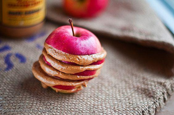 apple + peanut butter
