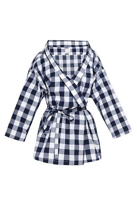 It's funny, but thanks to Leslie Mann's wardrobe in The Other Woman, I've become a little gingham obsessed, and I love that this Stella Jean Kimono top ($440) is an unexpected way to wear it. It's also just enough of a statement-maker that all you'd need to finish is skinny jeans and pumps.  —HW