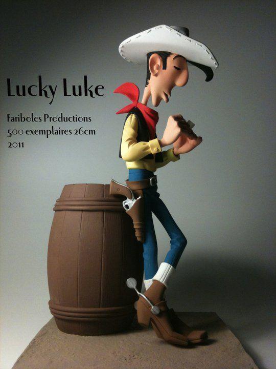 Lucky Luke Morris Et Goscinny Action Figures Toys