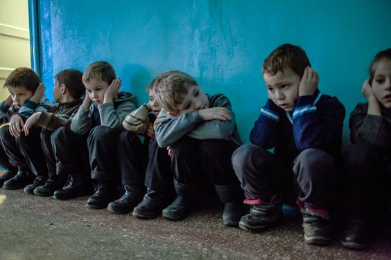 New York Times: Feb. 7, 2015 - Hungry, shivering and tearful in rebel-held eastern Ukraine