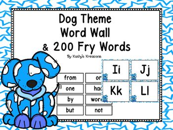 These adorable dogs are sure to brighten up your classroom.  They are blue and…