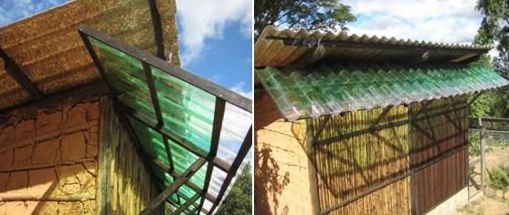"How to build roofs with plastic bottles - ""PSB - BRAZILIAN SOCIAL PERMACULTURE"""
