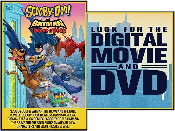 10 Will Win A Scooby Doo And Batman The Brave And The Bold Dvd