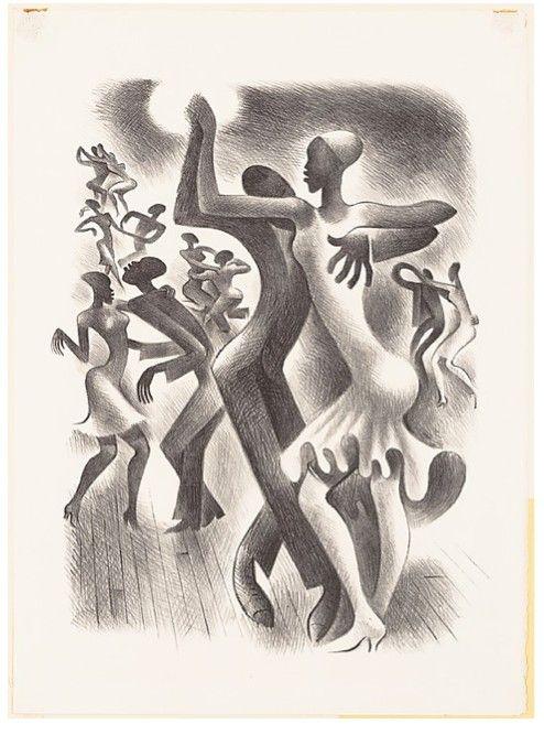 The Lindy Hop, Miguel Covarrubias, 1938: