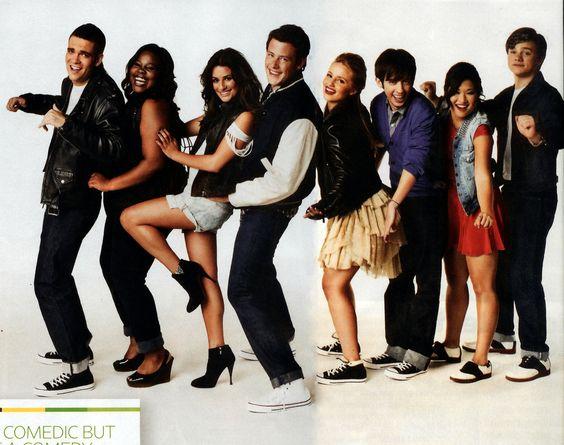 #MarkSalling #AmberRiley #LeaMichele #CoryMonteith #DiannaAgron #KevinMcHale #JennaUshkowitz #ChrisColfer #Glee