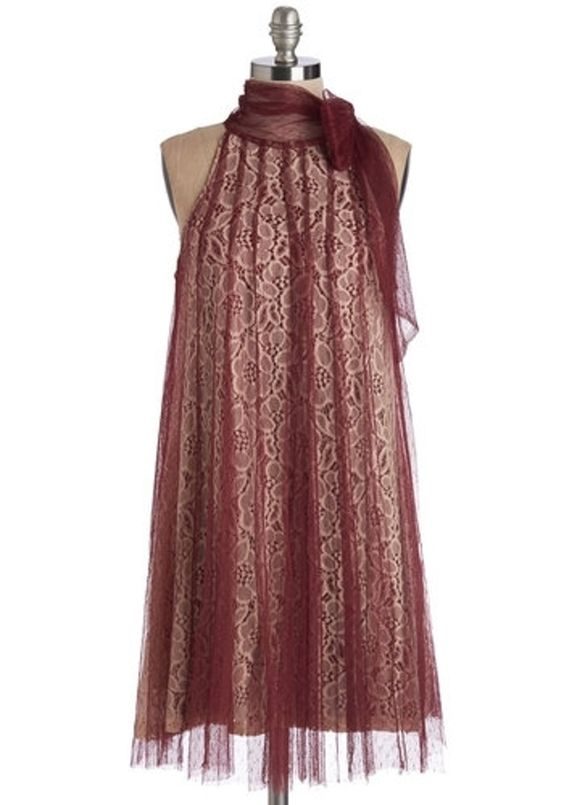 Ryu Time and Grace Dress in Merlot - Splash out in Ridiculously Sexy Holiday Dresses ... → Fashion Neoprene