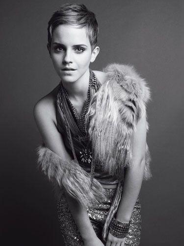 #emma #watson #pixie #dress