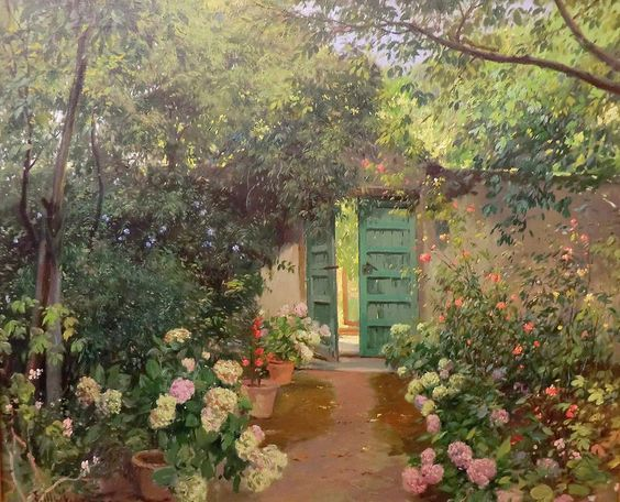 Eliseo Meifren i Roig - A Garden | by irinaraquel