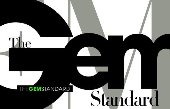 #typography #graphicdesign #gem #typeinspiration