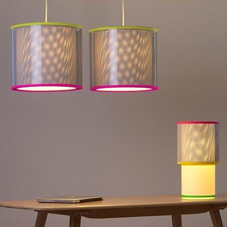 Optical Lampenschirm - Glb/Pnk von TOBYhouse   MONOQI