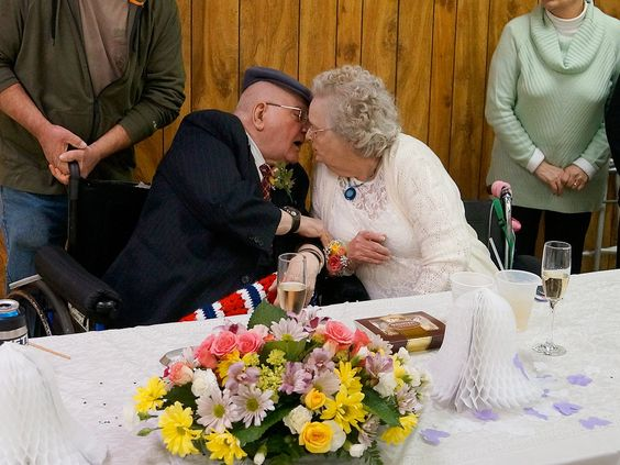 World War II Lovebirds Celebrate 70th Wedding Anniversary: 'They've Stuck Together Through Thick and Thin'