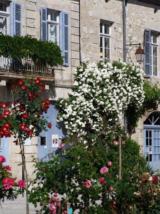 La Romieu – Des roses à profusion - Rosen in Hülle und Fülle de Jifasch32