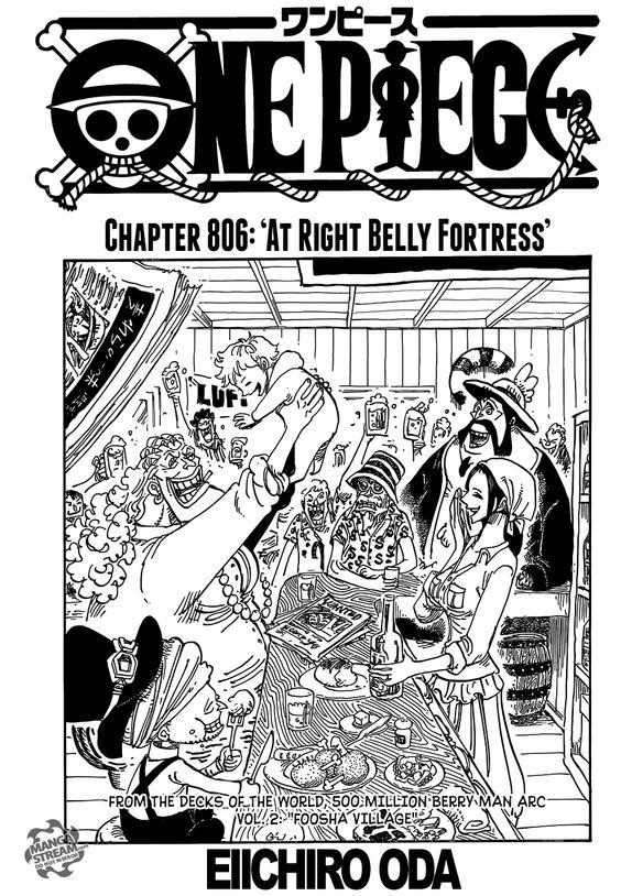 One Piece Chapter 806