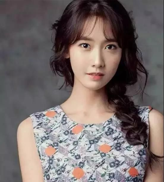 This Hairstyle Is Hot Cover Big Forehead Embellish Long Face Asian Beauty Yoona Yoona Snsd