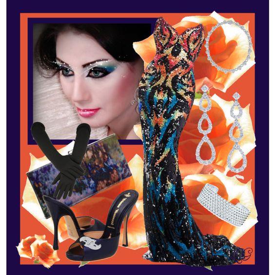 """``THE MILLION DOLLAR DRESS CONTEST ~~"" by queenofthegypsies on Polyvore"