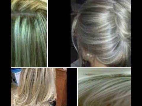 طريقة عمل الرنساج الفضي والزيتوني والروز جولد في فيديو واحد وطريقة ازالة Health And Beauty Long Hair Styles Beauty