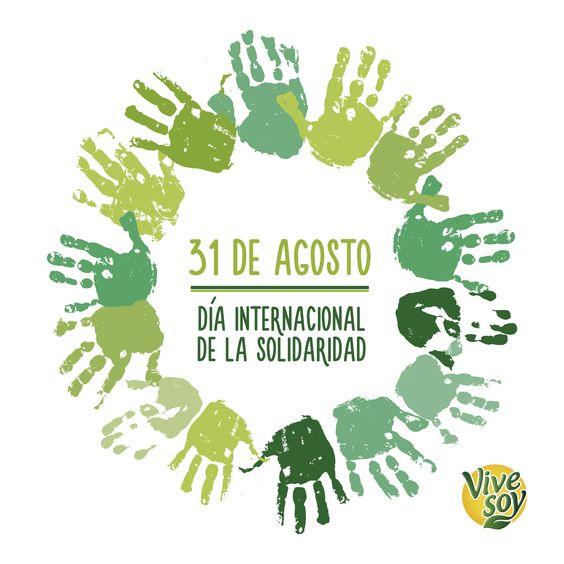 """""""Mucha gente pequeña, en lugares pequeños, haciendo cosas pequeñas, puede cambiar el mundo"""" Eduardo Galeano #DíaInternacionalDeLaSolidaridad #Vivesoy #Solidaridad #Acción"""