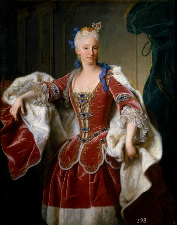 Elisabeth Farnese, Princess of Parma and Queen of Spain, by Jean Ranc, 1723