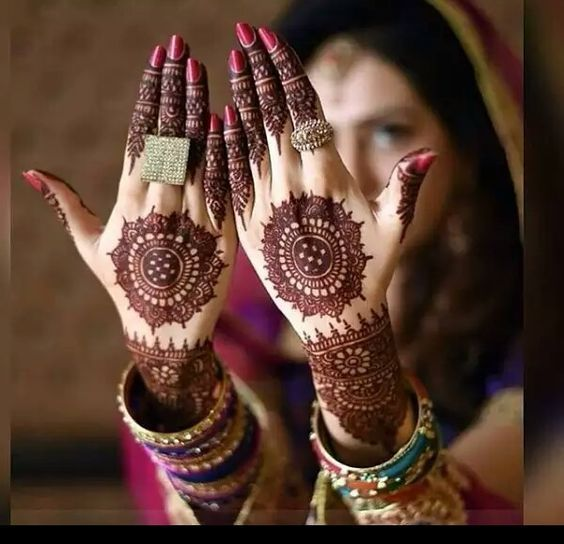 Easy and Simple mehandi designs