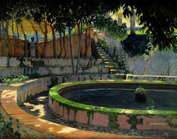 Santiago Rusiñol: El modernismo en la pintura española. (Trianarts)