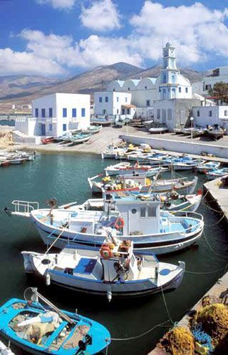 Port of Kassos island, Greece