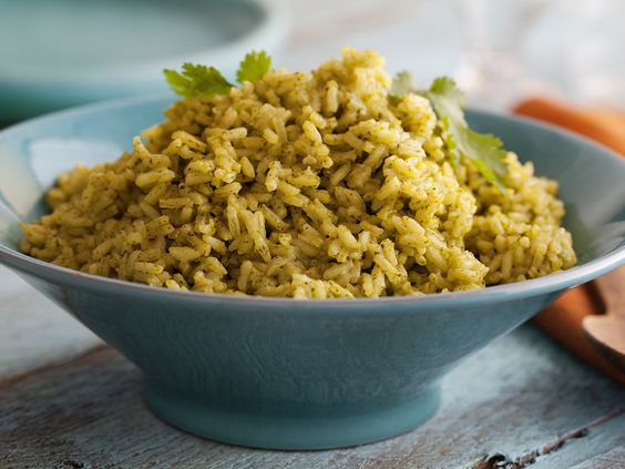 Cilantro Rice from FoodNetwork.com