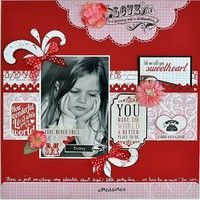 A Project by gumpgirl from our Scrapbooking Gallery originally submitted 02/07/12 at 07:57 AM