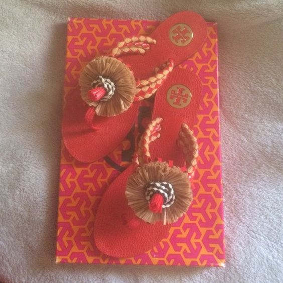 Tory Burch Leather sandals in size 6 Tory Burch Leather sandals in size 6 Tory Burch Shoes Sandals