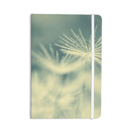 "Ingrid Beddoes ""Snowflake"" Teal White Everything Notebook"