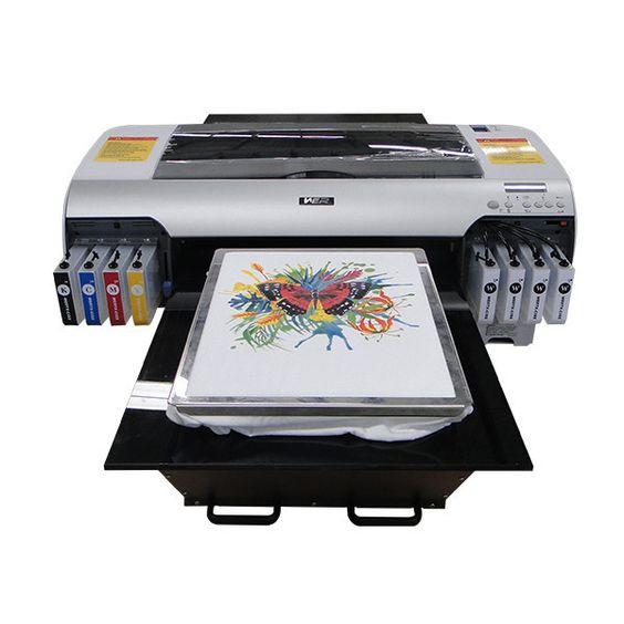 Best New Hot Selling A2 Size Wer D4880t Digital T Shirt Flatbed Printer In Selangor Eprinterstore Com T Shirt Printing Machine T Shirt Printer Digital Printing Machine